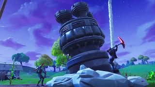 Cinematic Fortnite Missile Launch - Cracks the sky!!!