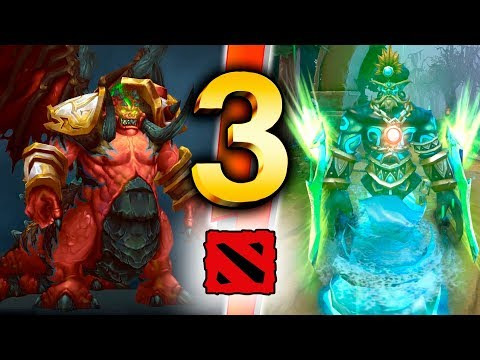 Dota 2 - TOP 3 Unofficial Mods (Sets)!