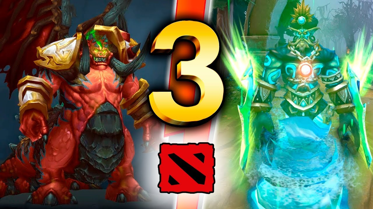 Dota 2 – TOP 3 Unofficial Mods (Sets)!