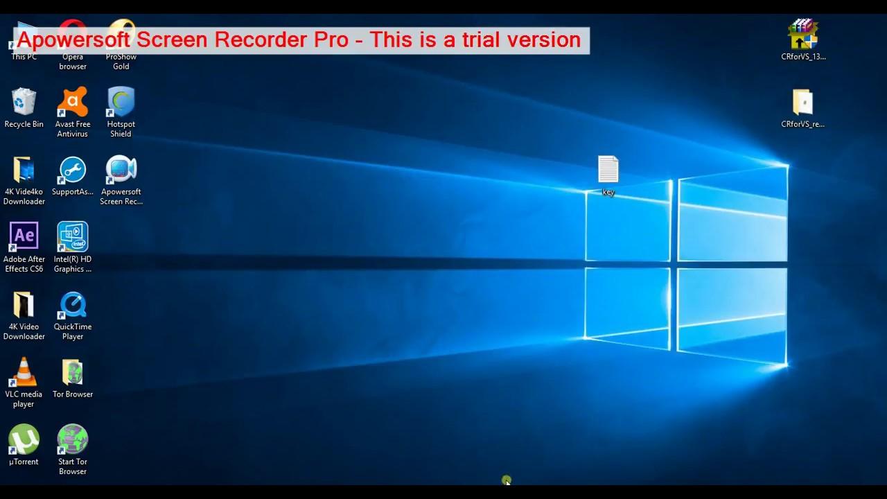 Apowersoft screen recorder online