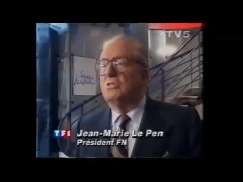 LE PEN soutient le Front islamique du salut (FIS) 1992 - 12 janvier - Algérie