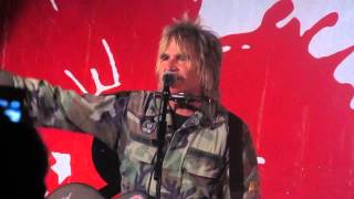 Mike Peters at the Iridium 8/9/14 Sold Me Down The River