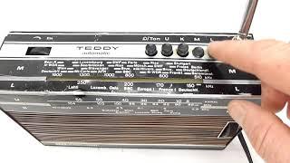 ITT Schaub-Lorenz Teddy Automatic Radio Play Test
