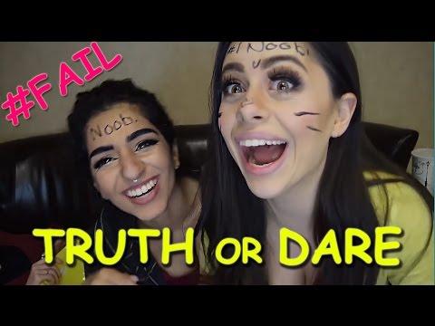 TRUTH OR DARE Challenge - Azzy vs. Saira