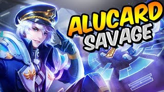 THE GREATEST ALUCARD SAVAGE! 62 SAVAGES (OMG!) - MOBILE LEGENDS