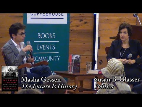 "Masha Gessen, ""The Future Is History"""