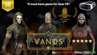 Wands for Samsung Gear VR is a must have game. It's a ground breaki...