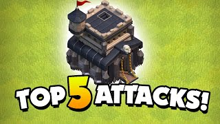 Top 5 Best TH9 Attack Strategies in 2021 (Clash of Clans)