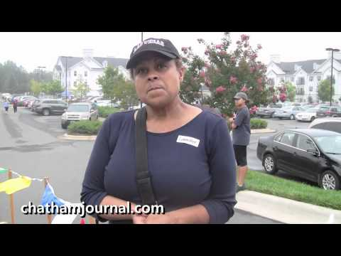 Pat Richardson talks about the Chatham Alzheimer's Walk & 5K Event