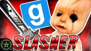Running From A Giąnt Killer Baby - Gmod: Slasher