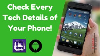 Check Every Tech Details of Your Phone! - CPU-Z - App Review