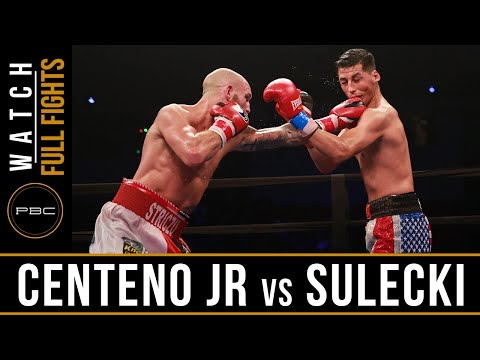 Centeno Jr vs Sulecki FULL FIGHT: June 18, 2016 - PBC on NBCSN