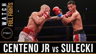Centeno Jr vs Sulecki FULL FIGHT: June 18, 2016 - PBC on NBCSN
