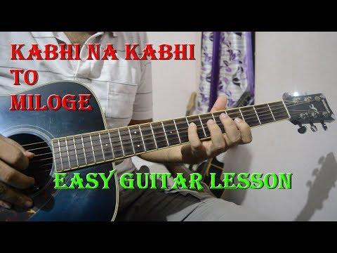 Kabhi Na Kabhi To Miloge (Shaapit) - Easy Guitar Lesson | Chords & Intro Lead