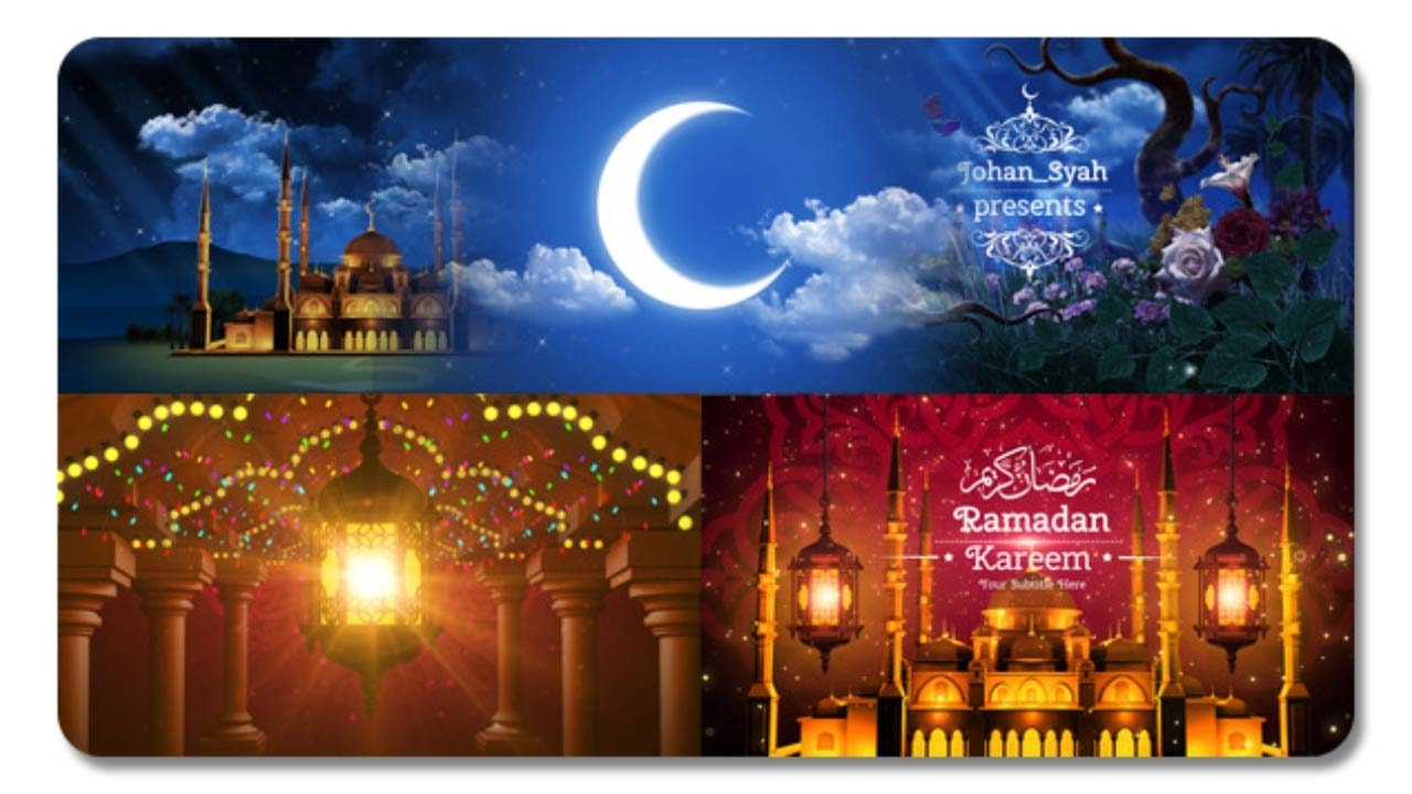 Ramadan Kareem Openers After Effects Template Youtube