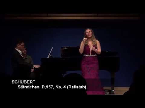 Schubert: Ständchen D.957 Nikoleta Rallis • Aza Sydykov at Opera America