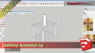 Animation Up With Animate Section Plugins | Sketchup Tutorial