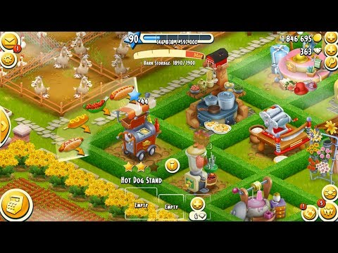 Hay Day Level 90 Update 9 HD 1080p