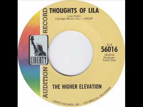 """Higher Elevation - """"Here Comes Sunshine"""" b/w """"Thoughts of Lila"""""""