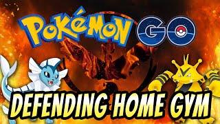 Pokemon Go Ep. 3 | HEAD-TO-HEAD GYM BATTLE