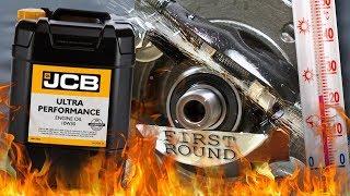 JCB Ultra Performance 10W30 Jak skutecznie olej chroni silnik? 100°C