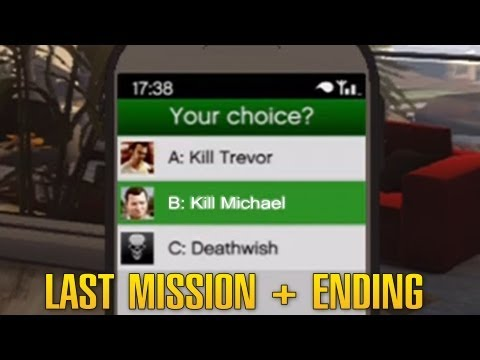 Grand Theft Auto 5 / GTA 5 - Final Mission: The Time's Come