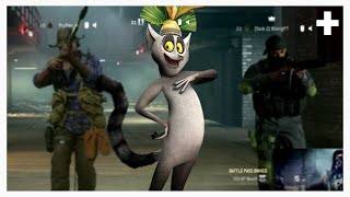 King Julien Warzone Moments