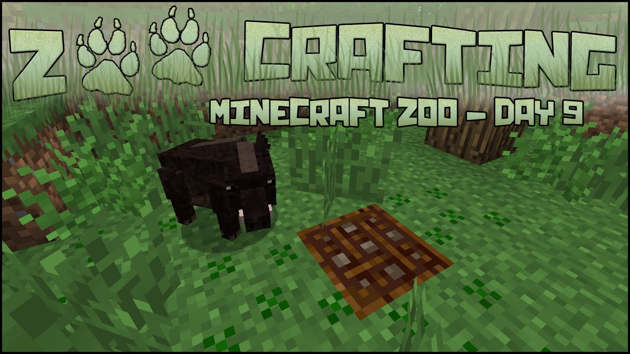Zoo Crafting Discoveries Mod Seri