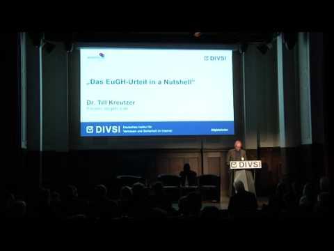 """DIVSI-Veranstaltung zum """"Recht auf Vergessenwerden"""" / Hatten die Richter des EuGH bei ihrer Entscheidung einen """"Vollpfosten""""?"""