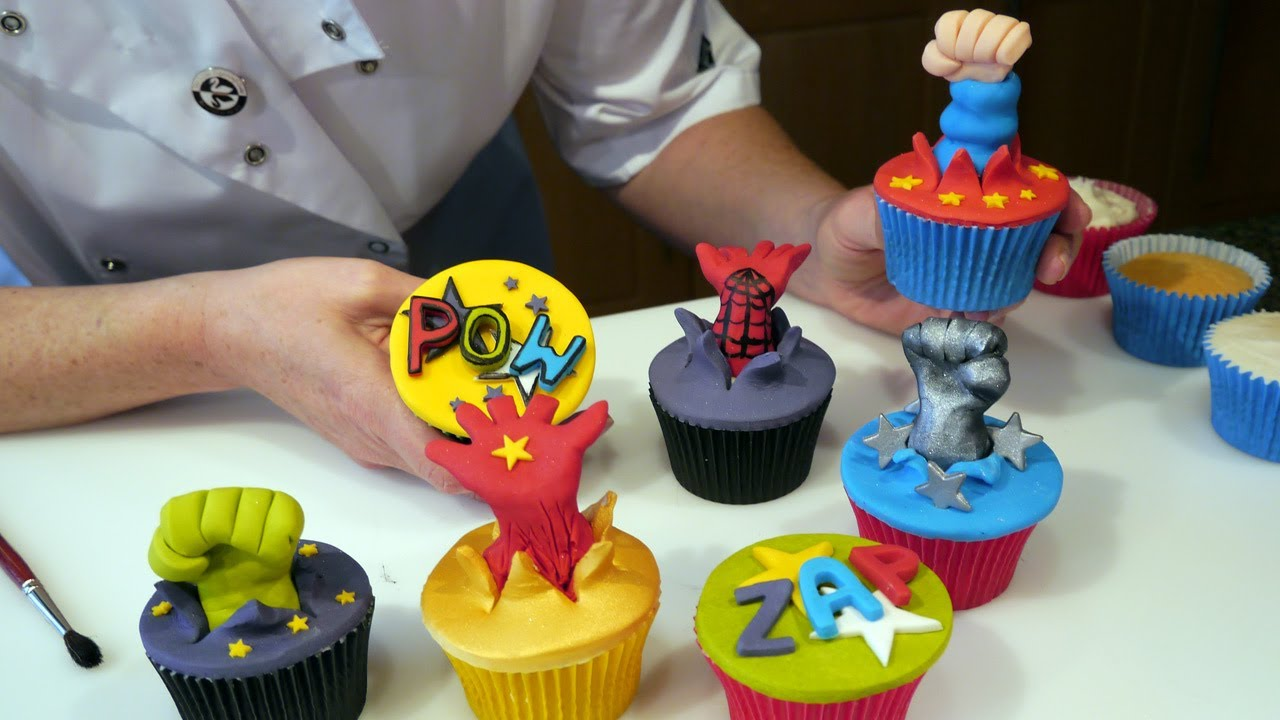 Superhero Stand Up Cake Toppers