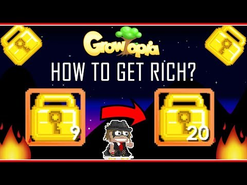GROWTOPIA  How To Get Rich With 9 Wls!! [2019!] (MASS #57)