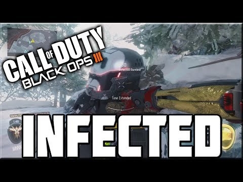 INFECTED ON BLACK OPS 3!