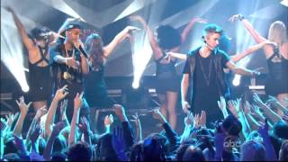 Justin Bieber & Big Sean , As Long As You Love Me, New Years Rockin Eve 2013 ,HD 1080p