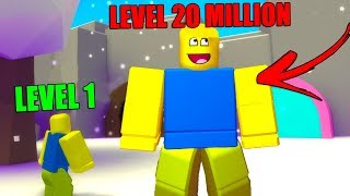 I am literally the biggest NOOB eVER! (Roblox Noob Simulator)