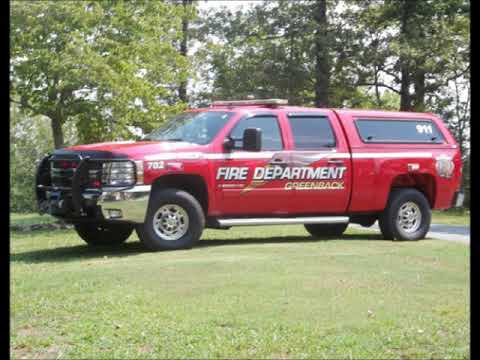 Greenback Fire Department Fatal Highway 411 Rollover Crash With Ejection