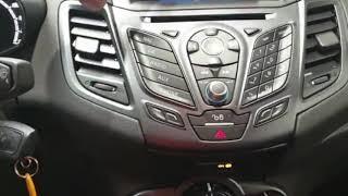 ❌TUTO ❌Mise en main Ford Fiesta 2015 ⁉️