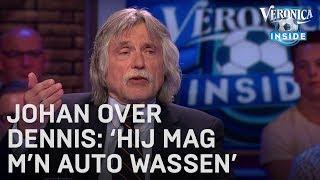 Johan blij met nieuwe verslaggever Dennis: 'Hij mag m'n auto wassen'