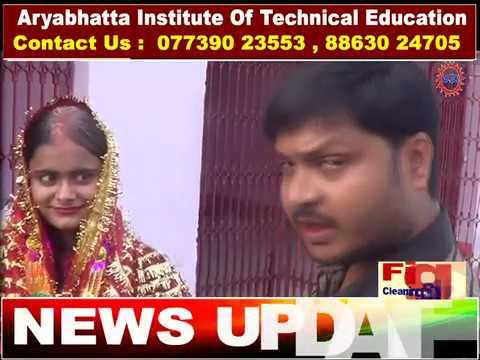 दो प्रेमियों ने बिना लगन के मंदिर में रचाई शादी,परिजन हुवे खपा।