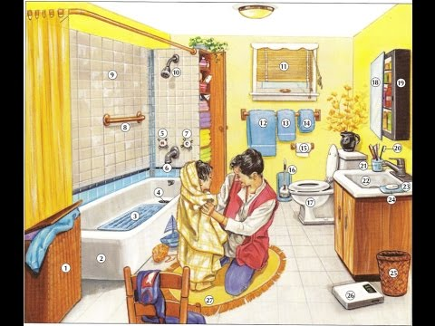 Oxford dictionary | Lesson 31: A Bathroom | Learn English | Oxford picture dictionary