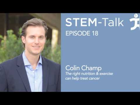 Episode 18  Dr  Colin Champ talks about how the right nutrition and exercise can help treat cancer