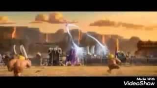 Desafio (destruir Cv8 e o canhão e a torre de bomba) clash of clans