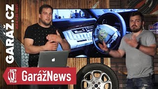 GARÁŽ News #3 - Putinova limuzína, nové BMW ledvinky, nehoda Uber auta