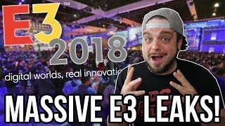 E3 2018 LEAKED - New Switch, PS4, Xbox One Games REVEALED! | RGT 85