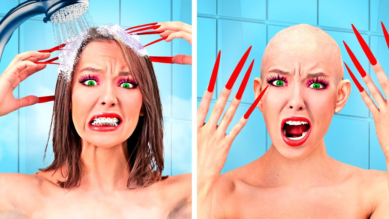 FUNNY GIRLY Problems With LONG NAILS - Beauty and Relationship Struggles | Relatable by La La Life
