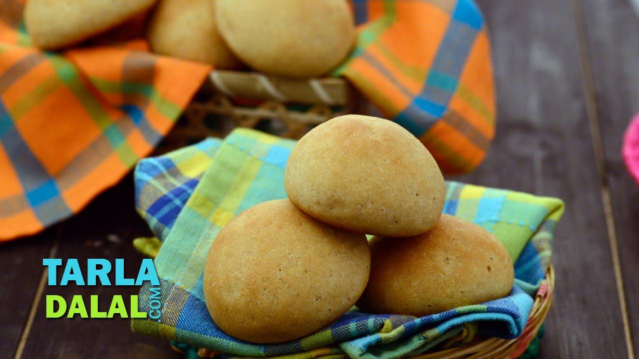 Whole Wheat Bread Roll by Tarla Dalal - YouTube