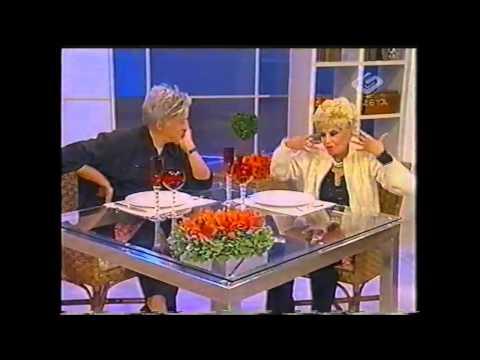Clodovil Entrevista Dercy Goncalves TV Gazeta 2002 - Entrevista (Quase)Completa