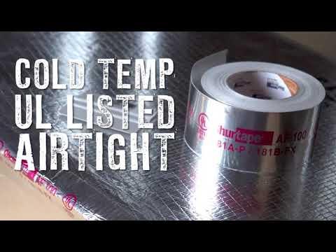 AF 100 with EasyPEEL®   Aluminum Foil HVAC Tape