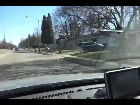 Driving in the USA Champaign Illinois