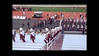 Alabama A&M University Band x Marching In (2013) - Marching Maroon & White