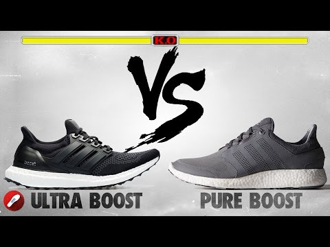 pure boost and ultra boost difference
